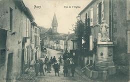 57) ANCY - Rue De L'église - (1906) (EB) - Other Municipalities