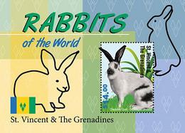 St.Vincent 2020   Fauna Rabbits  I202104 - Marshall Islands