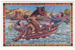 LOCH NESS - SCOTLAND - SCOZIA - CARTOLINA POSTALE - POST CARD - Altri