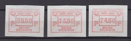 ATM 62SET Congo-zaire  POSTFRIS**  1986 - Postage Labels
