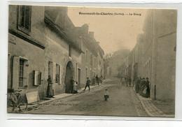 72 BEAUMONT La CHARTRE Sur DEME Le Bourg Animation Rue 1910  Edit Auguste Cocu      D13  2021 - Andere Gemeenten
