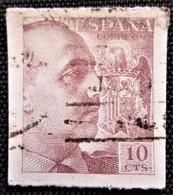 Franco De 1939 Edifil N° 888 - 1931-50 Oblitérés