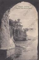CARTOLINA  NAPOLI,CAMPANIA,POSILLIPO POGODA VILLA ROCCAROMANO,MEMORIA,RELIGIONE,CULTURA,BELLA ITALIA,VIAGGIATA 1927 - Napoli (Napels)