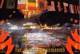USA Postcard 1996 Atlanta Olympic Games - Mint  (G126-62) - Estate 1996: Atlanta