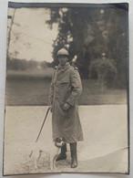Photo D'un Homme. Militaire. Militaria. En Permission à Briey. Meurthe-et-Moselle. 1916. WW1. - Guerra, Militares