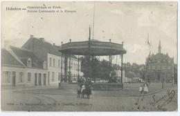 Hoboken - Gemeentehuis En Kiosk - Maison Communale Et Le Kiosque - No 10948 Fr. Raeymaeckers, Hoboken - 1907 - Antwerpen