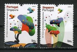 Portugal 2021 , 40. Aniversario Das Relacoes Diplomaticas - Postfrisch / MNH / (**) - Nuevos