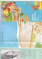 B2137 - Brochure TOURIST MAP OF LEBANON And BEIRUT Ed.1966/BYBLOS/JOUNIEH/SIDON/TRIPOLI/BAALBECK/ANJAR - Folletos Turísticos
