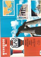 B2271 - Brochure CROCIERE TYPALDOS LINES 1963 - GRECIA ARCIPELAGO ISTAMBUL ASIA MINORE/NAVE KRITI - Dépliants Touristiques