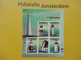 South Africa 2014, LIGHTHOUSES PHARES VUURTORENS LEUCHTTURMS: Mi 2329-33, ** - Lighthouses