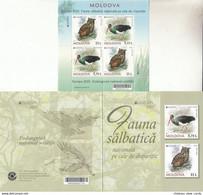 MOLDOVA 2021 EUROPA CEPT..Endangered National Wildlife.Booklet.MNH - Ohne Zuordnung