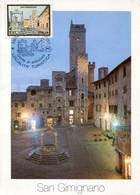 64498 Italia, Maximum 2002 Architecture San Gimignano, Unesco World Heritage, - Kastelen