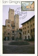 64499 Italia, Maximum 2002 Architecture San Gimignano, Unesco World Heritage, - Kastelen