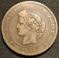 Pas Courant - FRANCE - 10 CENTIMES CERES 1898 A - Gad 265 - KM 815.1 - D. 10 Centesimi