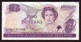 NEW ZEALAND - 2 Dollars (1985 1989) - Pick 170b - Nouvelle-Zélande