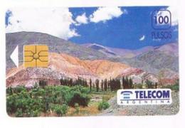 ARGENTINA  - LANDSCAPE: MOUNTAINS     -  USED -  RIF. 9579 - Montagne