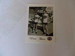 Cyclisme - Carte Postale Lucien Van Impe Et Eddy Merckx - Ciclismo
