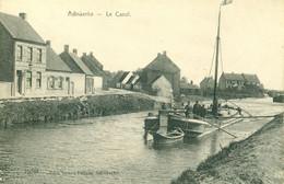 Adinkerke - Le Canal - Péniche - Boot - 1912 - De Graeve 19261 - De Panne