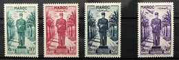 MAROC 1951 - NEUF*/MH - Série Complète YT 299 / 301 + PA 81 - LUXE - CV 10 EUR - Nuovi