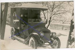 Allemande Carte Photo - Ambulance Camion LKW Sanitäter Rotes Kreuz   Soldats Allemande  - WWI 1.WK - 1914-18