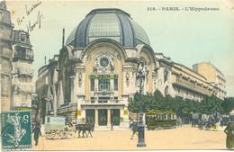 CPA - PARIS - L'HIPPODROME (1909) - Other Monuments