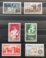 MAROC 1955 - NEUF*/MH - Série Complète YT 339 / 342 + 343 + 344 - LUXE - Nuovi