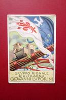 Cartolina Originale PNF Gruppo Rionale Oltrarno Giovanni Luporini Viaggiata 1942 - Andere