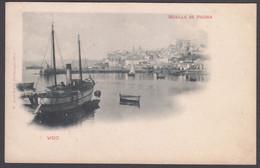 CPA - Espana / Spain  -  VIGO, Muelle De Piedra - Pontevedra