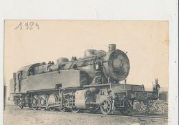 LES LOCOMOTIVES DE L EST MACHINE 5925 CPA BON ETAT - Trains