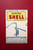 Cartolina Originale Pubblicitaria Benzina Shell Bolognaro Modena Non Viaggiata - Reclame