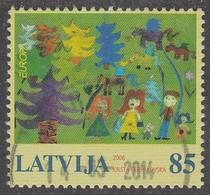 LATVIA  EUROPA  2006  Very Fine Used - 2006