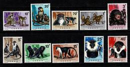 Rép. Congo 1971 OBP/COB 785/94** MNH Apen / Singes - Nuovi