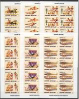 AA076 !!! IMPERFORATE 2005 GUINE-BISSAU ART MONUMENTS OF EGYPT MONUMENTOS DO EGIPTO 10SET MNH - Archéologie