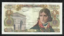 100 NOUVEAUX FRANCS BONAPARTE . 04 OCTOBRE 1962 . - 100 NF 1959-1964 ''Bonaparte''