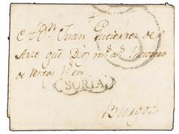 SPAIN: PREPHILATELIC MARKS  DP03 SORIA - ...-1850 Prephilately