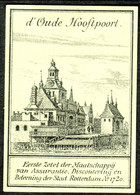 "Nederland Rotterdam ~1910 "" D'oude Hooftpoort "" Vignette Cinderella Sluitzegel Reklamemarke - Cinderellas"