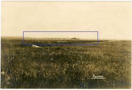 Allemande Carte Photo - Frankreich  Reims Stellung    - WWI 1.WK - Sin Clasificación