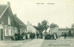 Klein Sinai - Klein Sinaai - Dorpstraat - 1908 - Animatie - De Graeve 14548 - Stekene