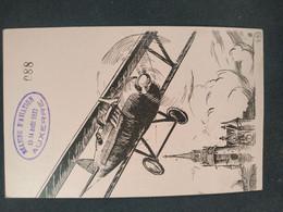 Aerophilatélie 2 Cartes Postales Meeting Aviation Champagne Et Bourgogne 1910 Et 1932 - Other