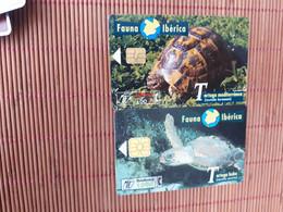 Turtles 2 Phonecards Used  Rare - Tartarughe