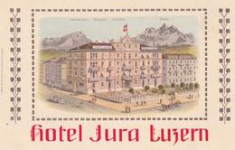 Suisse  -  HOTEL JURA  LUZERN - LU Lucerne