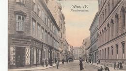 Wien IV ,  Karolinengasse , Leinwand  Bettzeuge - Otros