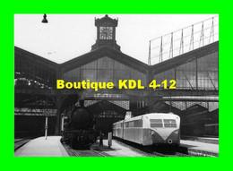 ACACF 218 - Autorail Bugatti Triple En Gare - PARIS SAINT-LAZARE - SNCF - Trenes