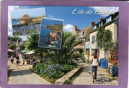 22 L'Île-de-Bréhat Le Moulin Du Birlot Le Phare Du Paon Et Les Rues Piétonnes - Ile De Bréhat