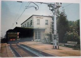 LUNGAVILLA - PAVIA - STAZIONE FERROVIARIA CON TRENO - Pavia