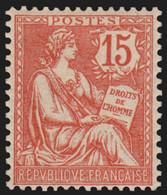 France N°125, Mouchon 15c Vermillon, Neuf ** Sans Charnière COTE +60€ - TB - Nuovi