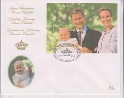COB Bloc 97 La Dynastie Belge Anniversaire Princesse Elisabeth FDC Grand Format 21 Cm X 17 Cm - 2001-10