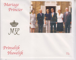 COB Bloc 82 La Dynastie Belge Mariage Princier FDC Grand Format 21 Cm X 17 Cm - 1991-00