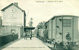 Nederbrakel - Intérieur De La Gare - Trein - Train - Statie -1908 - De Graeve 12832 - Brakel