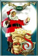 Père Noël, Sac De Courrier Et Grand S - éditions Split Mexico - Neuve - Pubblicitari